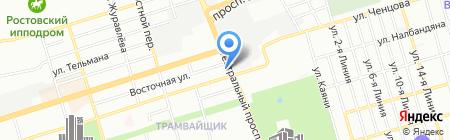 Корнелия на карте Ростова-на-Дону