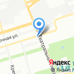ТС на карте Ростова-на-Дону