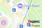 Схема проезда до компании Апельсин в Сочи