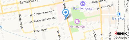 Энкор на карте Батайска