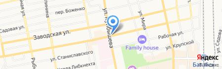 ВСК на карте Батайска