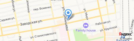 Банкомат Банк ВТБ 24 на карте Батайска