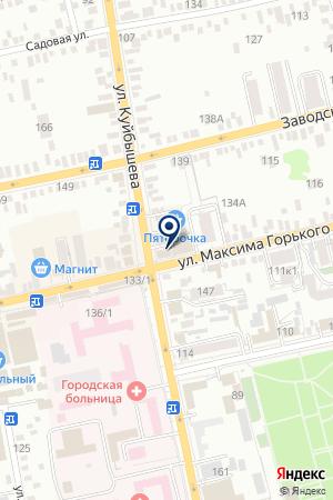 БАТАЙСКИЙ РОДИЛЬНЫЙ ДОМ на карте Батайска