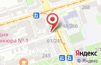Схема проезда до компании Айдиэс в Ростове-На-Дону