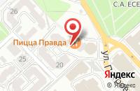 Схема проезда до компании Компания «Архжилпромстрой» в Рязани