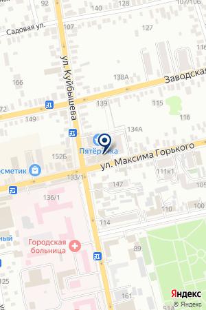 БАТАЙСКИЙ ФИЛИАЛ ВОЕННО-СТРАХОВАЯ КОМПАНИЯ на карте Батайска
