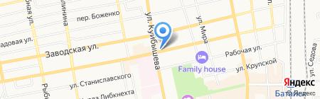 Московский Индустриальный банк на карте Батайска