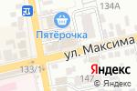 Схема проезда до компании Мебельный магазин в Батайске