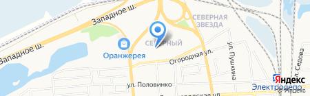 Юго-Западный банк Сбербанка России на карте Батайска