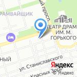 У Андрея на карте Ростова-на-Дону