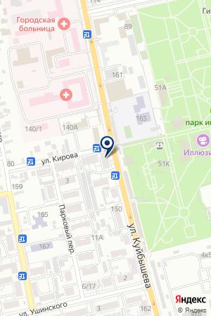 КОМПЬЮТЕРНАЯ ФИРМА ЦЕНТР БУХГАЛТЕРСКИХ ТЕХНОЛОГИЙ на карте Сальска