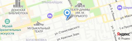Сречко на карте Ростова-на-Дону