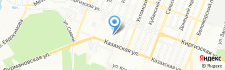 Средняя общеобразовательная школа №24 на карте Ростова-на-Дону