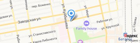 Вперед на карте Батайска