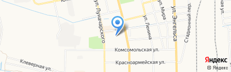 Детский сад №148 Сказкоград на карте Батайска