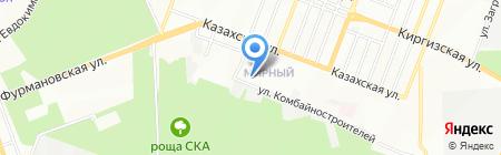 Колос на карте Ростова-на-Дону