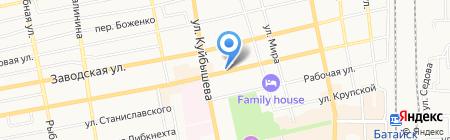 Страховой центр на карте Батайска