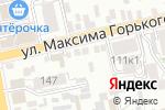 Схема проезда до компании Красотка в Батайске