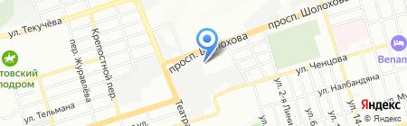 БАРС на карте Ростова-на-Дону