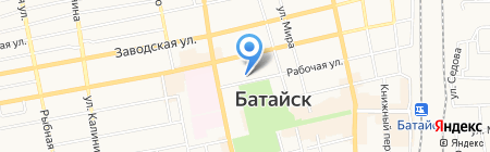 Отдел полиции Управления МВД России по г. Батайск на карте Батайска