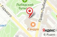 Схема проезда до компании Центр продаж недвижимости в Рязани