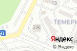 Схема проезда до компании Дон-Бетон в Ростове-на-Дону
