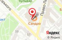 Схема проезда до компании ПромИнвестПроект в Рязани