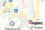 Схема проезда до компании Helius Hotel в Сочи