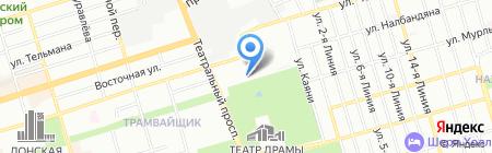 Детский сад №95 на карте Ростова-на-Дону
