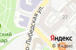 Схема проезда до компании Lash design в Рязани