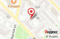Схема проезда до компании Московская Полиграфия в Рязани