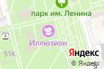 Схема проезда до компании Иллюзион в Батайске