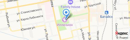 Банкомат Банк Русский Стандарт на карте Батайска