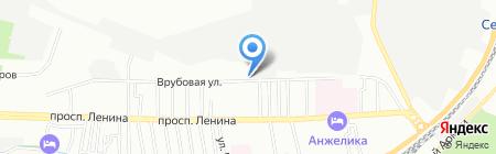Юг Плюс на карте Ростова-на-Дону