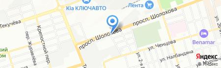 Обои Италии на карте Ростова-на-Дону