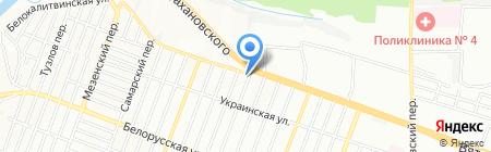 Дон Уют на карте Ростова-на-Дону