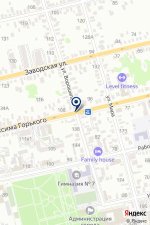 АВТОСТОЯНКА АВТО-ДОН на карте Шахт