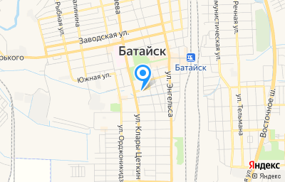 Местоположение на карте пункта техосмотра по адресу Ростовская обл, г Батайск, ул Подтопты, д 75/167