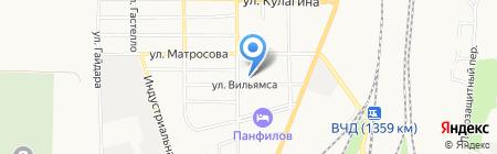 Профессиональное училище №108 на карте Батайска