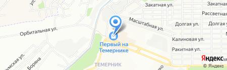 Юг-Дом на карте Ростова-на-Дону