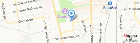 Управление гражданской защиты г. Батайска на карте Батайска