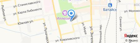 Аура на карте Батайска