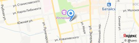 Банкомат Банк Петрокоммерц на карте Батайска