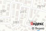 Схема проезда до компании Строящийся жилой комплекс в Сочи