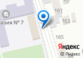 Гимназия №7 на карте