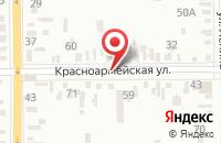 Схема проезда до компании Славяне в Батайске