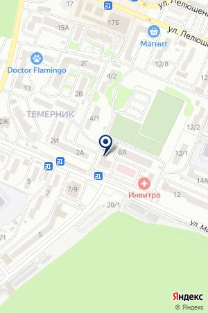 ЮМА на карте Ростова-на-Дону