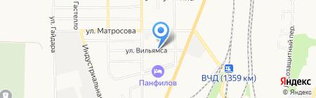 Хмельной дворЪ на карте Батайска