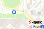 Схема проезда до компании Киоск по продаже фруктов и овощей в Рязани