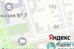 Схема проезда до компании BPrint в Батайске